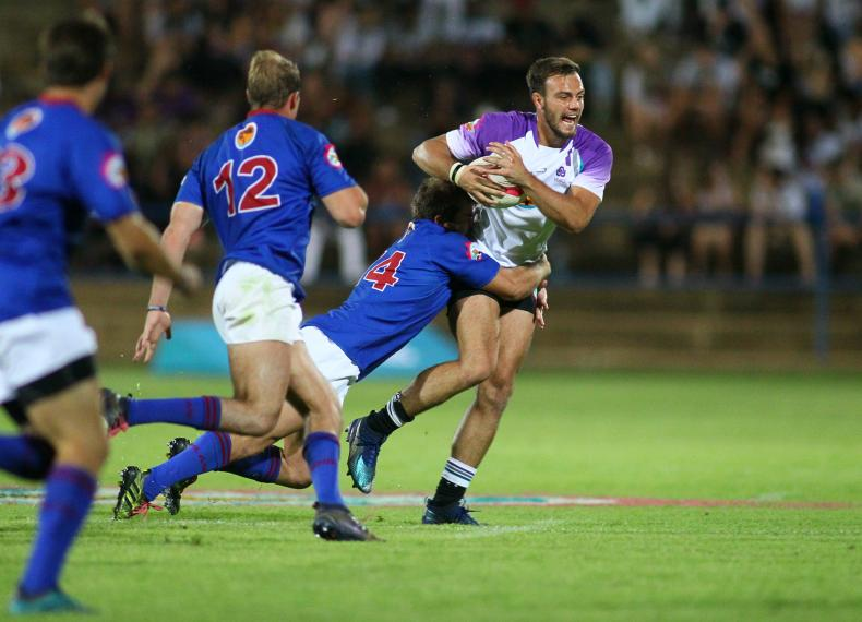 Robert Hunt was one of the NWU Varsity Cup players who returned after turning out for the Leopards