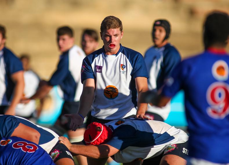 USA scrumhalf Ruben de Haas played for CUT during the 2018 Varsity Cup
