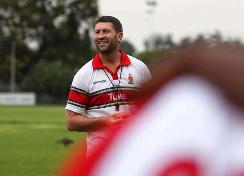 Nico Luus will step up to head coach of UP-Tuks during FNB Varsity Cup 2020